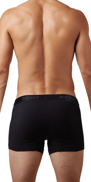 2(x)ist 3102030403 3pk Boxer Briefs black