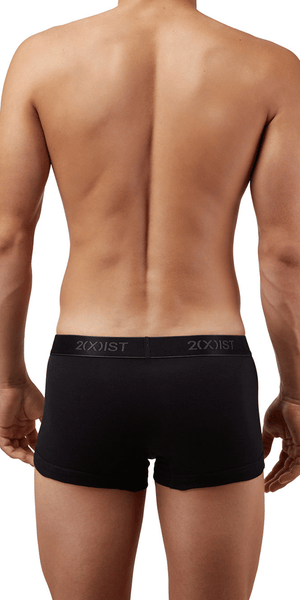 2(x)ist 3102033303 3pk No-show Trunks black