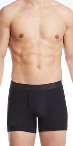 2(x)ist 3104100401 Pima Cotton Boxer Briefs black
