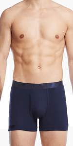 2(x)ist 3104100401 Pima Cotton Boxer Briefs navy