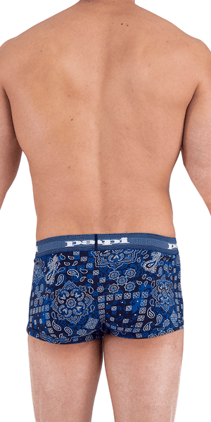 Papi 554570-410 Heading West Brazilian Trunks Blue