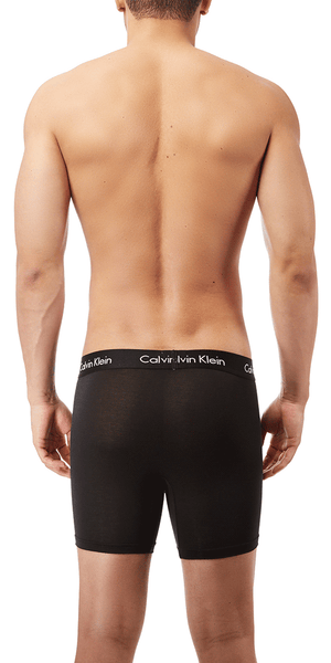 Calvin Klein 3-Pack Boxer Brief Body Ultra Soft Cotton Modal  Black-blue Shadow-mink - Nb1427-461
