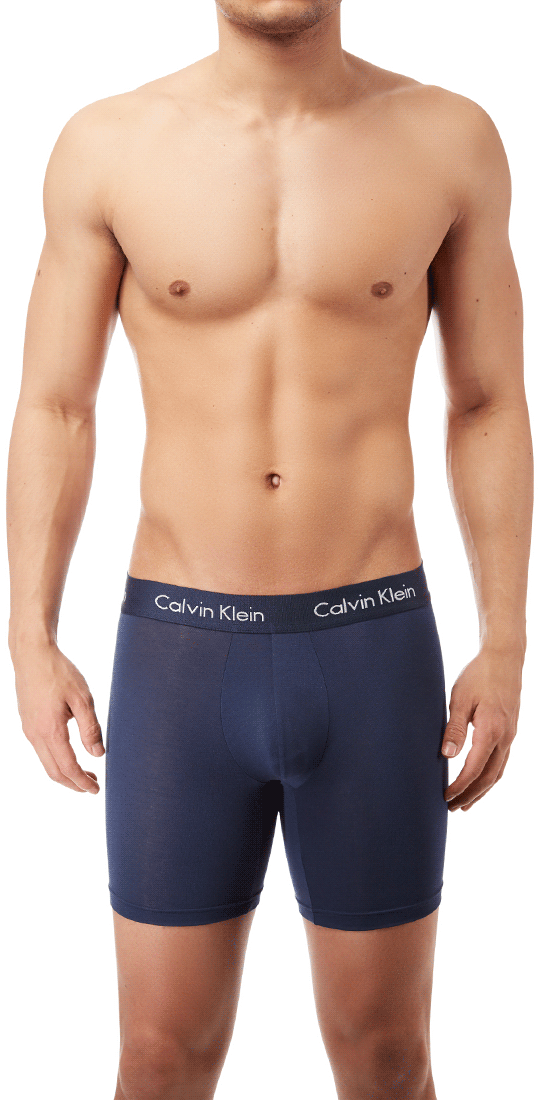 Calvin Klein Boxer Brief Body Ultra Soft Cotton Modal  Blue Shadow - U5555-403