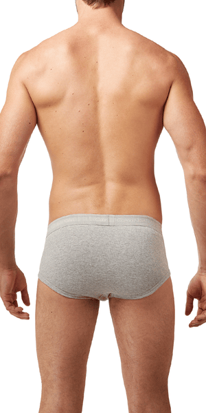 Calvin Klein 4-Pack Brief Fly Classics Cotton Heather Grey - U4000-020