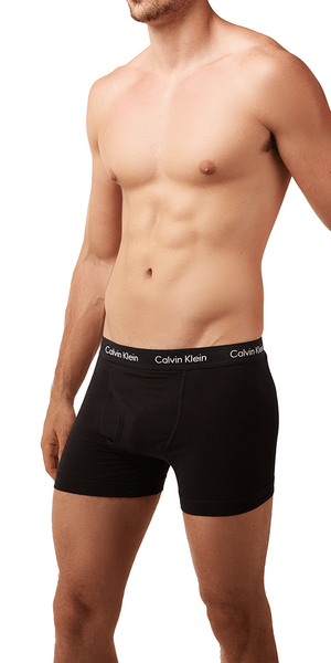 Calvin Klein 3-Pack Boxer Brief Cotton Stretch Black - Nu2665-001