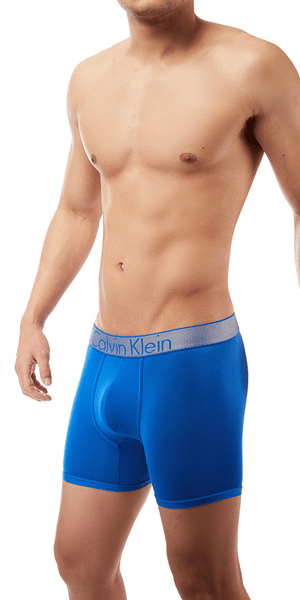 Calvin Klein Boxer Brief Customized fit Stretch Blue Muscari - Nb1296-437