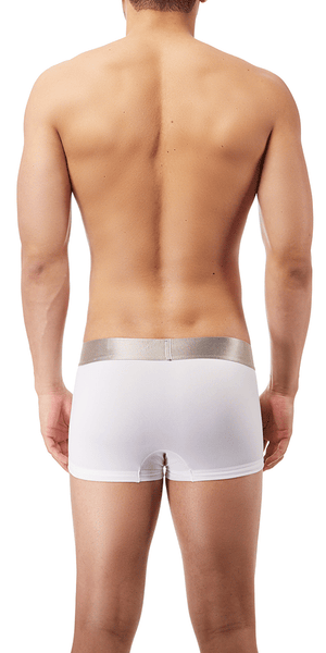 Calvin Klein 3-Pack Trunk Low Rise Steel Micro White - Nb1656-100
