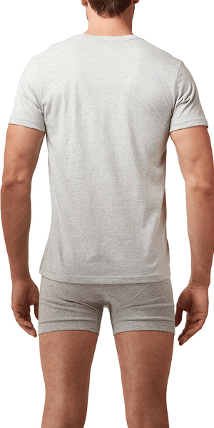 Calvin Klein 3-Pack V-Neck Tee Cotton Classics Grey-white-black - M4065-900