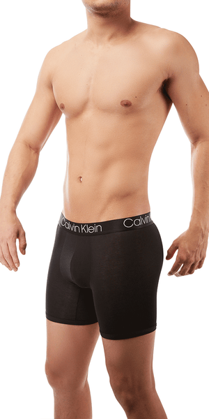 Calvin Klein Boxer Brief  Long Ultra Soft Cotton Modal Black - Nb1797-001