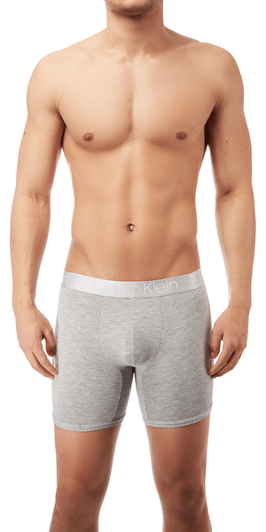 Calvin Klein Boxer Brief Long Ultra Soft Modal Grey Heather - Nb1797-020