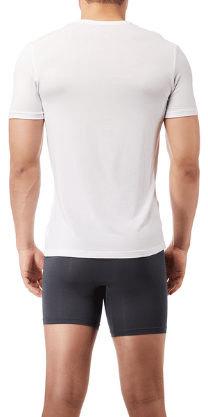 Calvin Klein Crew Neck T-Shirt Ultra Soft Modal Lounge White - Nm1658-100