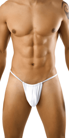 Candyman 9586 G-string Thong. White