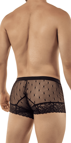 Candyman 99406 Lace Trunks Black