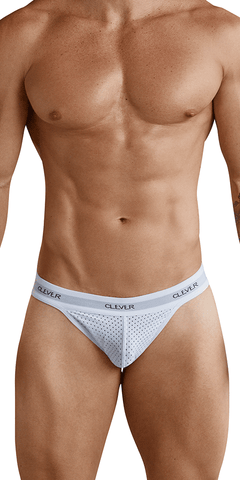 Clever 0001 Thong Mesh White