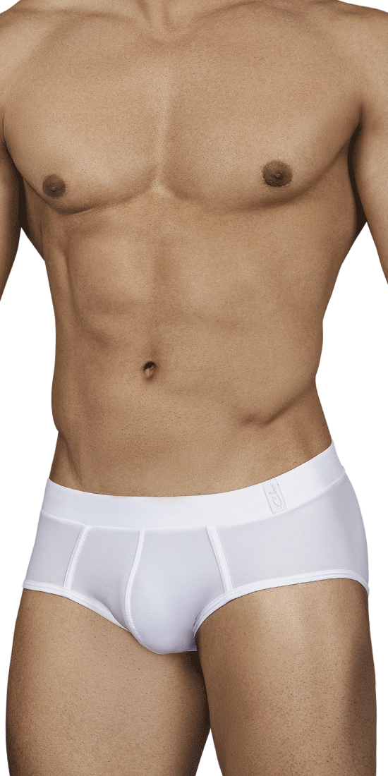 Clever 0140 Spiritual Piping Briefs White