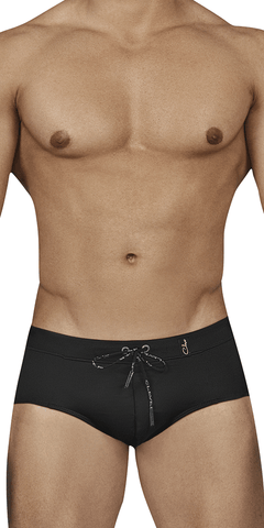 Clever 0165 Individual Swim Briefs Black