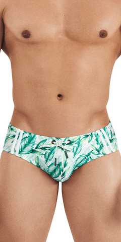Clever 0323 Genova Swim Briefs Green