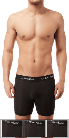 Calvin Klein 3-Pack Boxer Brief Body Ultra Soft Cotton Modal  Black - Nb1427-001