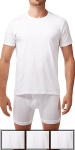 Calvin Klein 3-Pack Crew Neck Tee Cotton Classics White - U4001-100