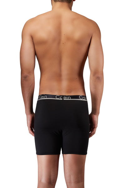 Calvin Klein 3-Pack Boxer Brief Comfort Microfiber Black - Nb1361-001