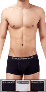 Emporio Armani 3-Pack Trunk Gray-black-navy - 111610cc722