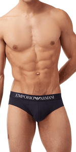 Emporio Armani Low Rise Brief Navy - 110814cc718