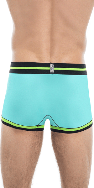 HUNK2 TR2020E Alphae Morellet² Trunk in Mint/Yellow