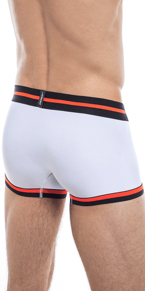 HUNK2 TR2020G Alphae Palais² Trunk in White/Blood Orange