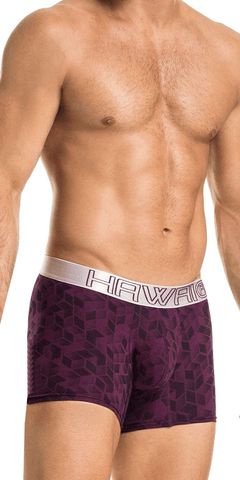 Hawai 41922 Boxer Briefs Grape