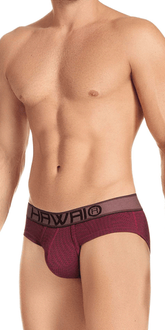Hawai 41974 Briefs Red Wine