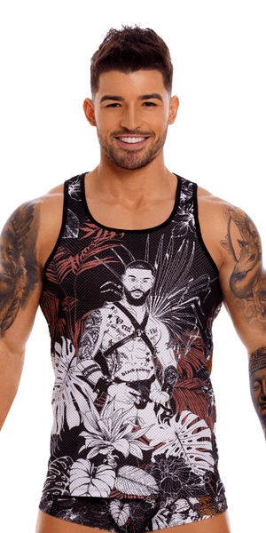 Jor 1129 Will Tank Top Printed