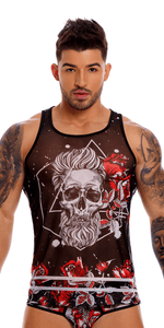 Jor 1167 Detroit Tank Top Printed