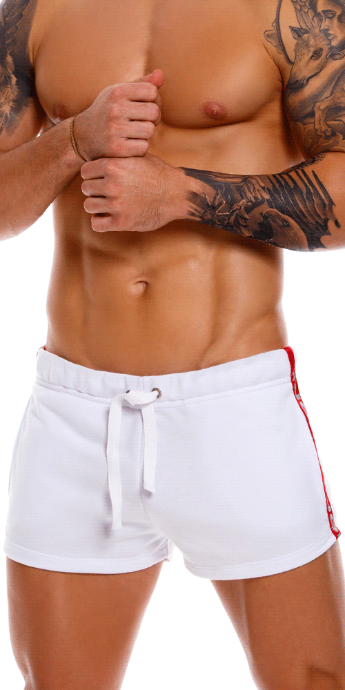 Jor 1172 Sparta Mini Short White