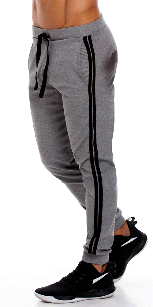 Jor 1181 Bosse Athletic Pants Gray