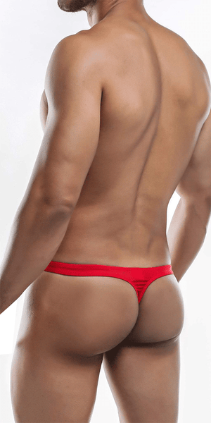 Joe Snyder Js03-pol Polyester Thong Red-poly
