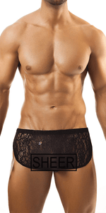 Joe Snyder Js09 Short  Black Lace
