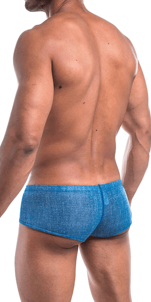 Joe Snyder Js13-denim Denim Cheek Boxer Blue Denim