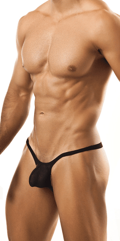 Joe Snyder Jsbul02 Bulge Tanga Black Mesh