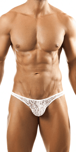 Joe Snyder Jsbul02 Bulge Tanga White Lace
