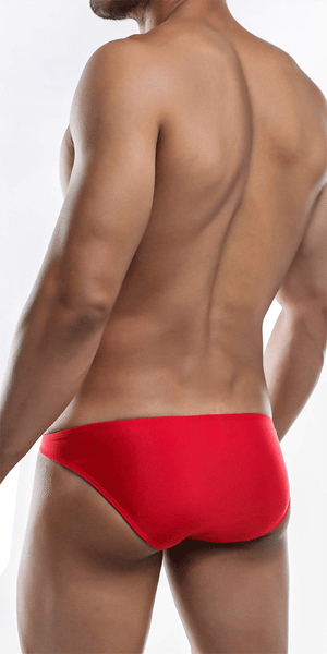 Joe Snyder Jsbul04-pol Polyester Bulge Full Bikini Red-poly