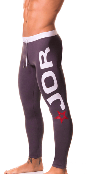 Jor 0163 Olimpic Long Pants Gray