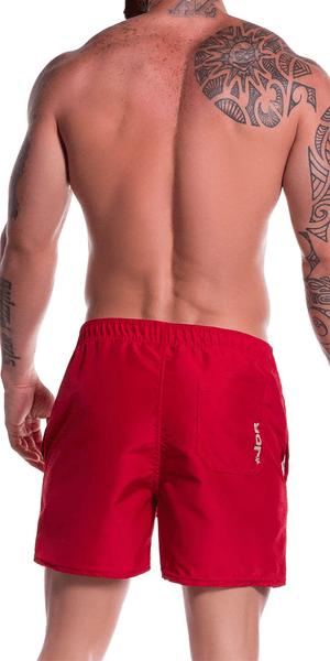Jor 0786 Torino Athletic Shorts Red