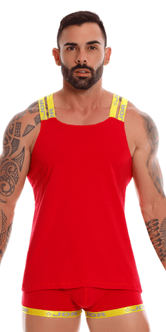 Jor 0943 Power Tank Top Red