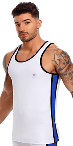 Jor 1171 Ares Tank Top White
