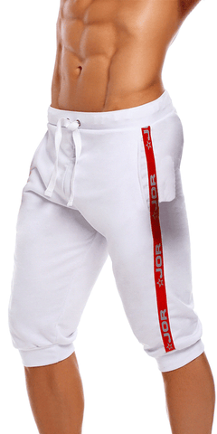 Jor 1173 Sparta Athletic Shorts White
