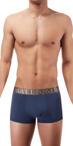 Male Power AvantGarde Enhancer Short In Antique Blue