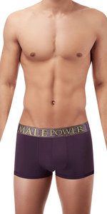 Male Power AvantGarde Enhancer Short In Eggplant
