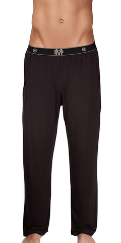Male Power Bamboo Lounge Pant In Black