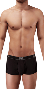 Male Power Bamboo Mini Short In Black