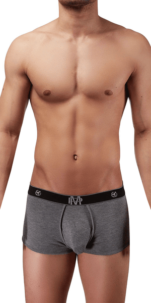 Male Power Bamboo Mini Short In Gray